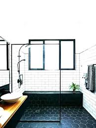 bathroom ceiling carrara marble subway tile ideas white tiles 3 4 black and b subway tile bathroom