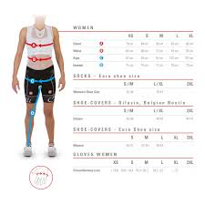 Craft Cycling Size Chart Size Chart Castelli