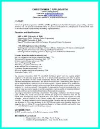 Computer Science Resume Example Magnificent Computer Science Graduate Resume Best Of The Best Puter Science