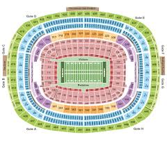 Colts Seating Chart Colts Schedule Fedexfield Seating Chart Football