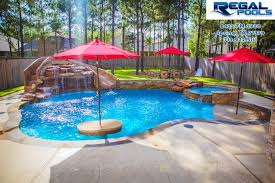 Impressive Pool Designs With Waterfalls And Slides Regal Design For Innovation