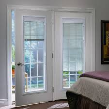 beautiful sliding patio doors with internal blinds odl enclosed blinds built in door window treatments for