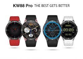 Kaimorui <b>KW88 Pro</b> 3G Smartwatch Phone Android 7.0 Quad Core ...