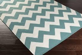 artistic weavers york teal chevron pheobe area rug  reviews  wayfair