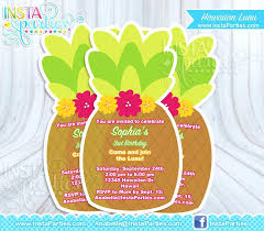 invitations to birthday party amazing invitations for birthday party and luau invitations
