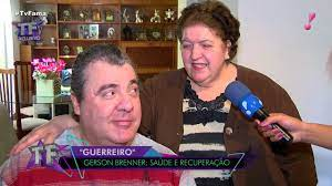 Família de Gerson Brenner abre as portas de sua casa para o TV Fama -  YouTube