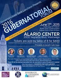 flyers forum upcoming events 2016 gubernatorial forum
