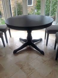 ikea ingatorp round table extending round dining table