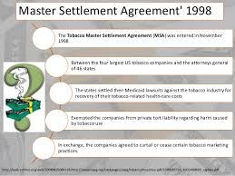 Master Settlement Agreement Why Vaping is Safer in the UK than in the US 2