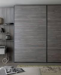 contemporary wardrobe wooden sliding door