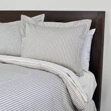 blue and white striped duvet cover. Fine White In Blue And White Striped Duvet Cover H