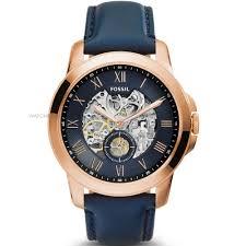 "mens designer label watches watch shop comâ""¢ mens fossil grant automatic watch me3054"