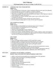 Volunteer Work Resume Examples Sample Resume With Volunteer Work Blaisewashere Com