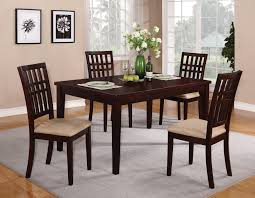 Chair Espresso Casual Dining Room Set - Brown dining room chairs