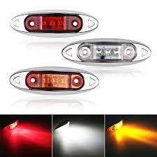 Car Turn Signal Lights Us 3 76 8 Off 2pcs Led Truck Side Marker Turn Indicators Car Turn Signal Lights Brake Lamps 12v 24v Auto Trailer Tail Warning Lamp In Car Light