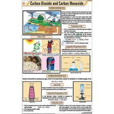 Carbon Dioxide And Carbon Monoxide Chart 58x90cm