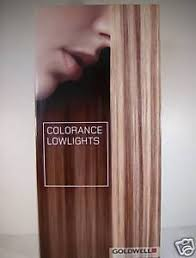 Goldwell Hair Color Chart Details About Goldwell Colorance Lowlights Professional Hair Color Trifold Swatch Chart