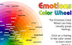 Color Chart Ideas Colors Emotions Chart 36702