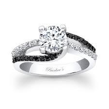 barkev s black diamond engagement ring 7677lbk