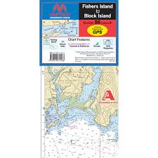 Maptech Folding Waterproof Chart Fishers Island To Block Island