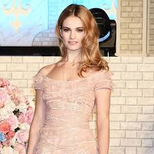 Lily in Elie Saab dress Lily Chloe Ninette Thomson Pinterest.