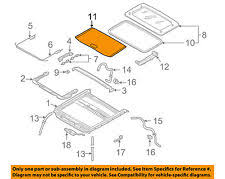 sunroof, convertible & hardtop for infiniti i30 ebay 2003 Infiniti I35 Rear Shade Wiring Diagram nissan oem sunroof sun roof sunshade shade cover 912503l018 (fits infiniti i30) 2003 Infiniti I35 Belt Diagram