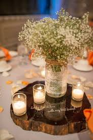 Fall Table Decorations With Mason Jars Pretty I Like The Tealights Surrounding The Ball Jar And That 23