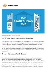 wholesale home decor trade shows thomasnucci