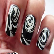 15++ Black and White Nail Designs Tumblr