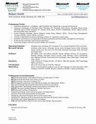 Sample System Administrator Resume Awesome 51 Luxury Sample Resume
