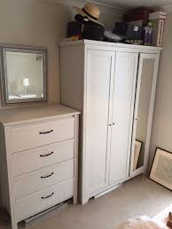 Matching Bedroom Furniture Matching White Bedroom Furniture Set 1 X Wardrobe 1 X Chest Of