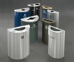 50 gallon trash can trash receptacles garbage cans