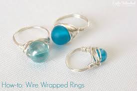 supplies needed to make your own wrapped wire rings supply2