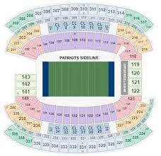 One Direction Buffalo Seating Chart Patriots Tickets 2019 Pats Games Buy At Ticketcity