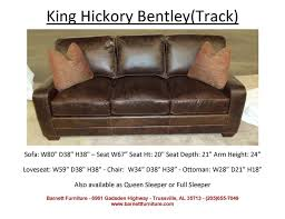 apartment size leather furniture. King Hickory Bentley Sofa With Track Arm And Modern Leg. You Choose From 3 Styles. Apartment Size Leather Furniture C
