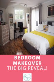 Organised Bedroom Bedroom Makeover The Big Reveal Blog Home Organisation The