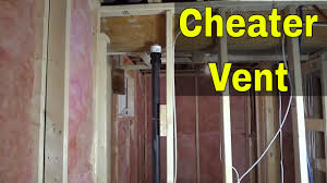 Cheater Vent For Plumbing How It Works Aka Air Admittance Valve