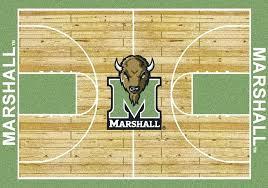 basketball area rug duke home court nylon large