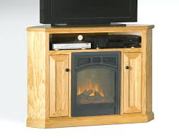 corner electric fireplace tv stand home depot oak