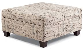 ... Coffee Table, Incredible White Modern Fabric Square Ottoman Coffee Table  Design: Exciting Square Ottoman ...