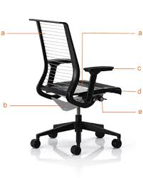 steelcase think office chair. the steelcase think ergonomic office chairs chair