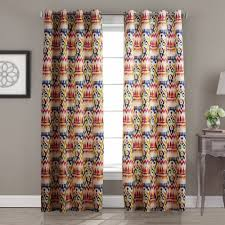 freehipping custom curtain abstract gypsy bohemian multi color fl blackout curtains for living room windows ceiling picture more detailed about