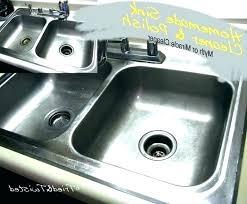 elegant stainless steel sink cleaner polish re si