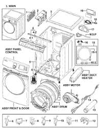 samsung dryer parts. heater assy parts; main parts for samsung dryer dv419aew/xaa-0000 / from appliancepartspros.com g