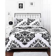 black and white bed covers. Fine White Walmart Classic Noir Reversible Bedding Comforter Set With Black And White Bed Covers H