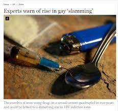 Gay meth chem slam point