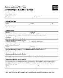 Employee Direct Deposit Authorization Agreement Direct Deposit Enrollment Form School Template Free Sign Up
