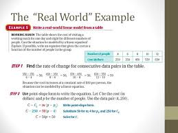8 the real world example
