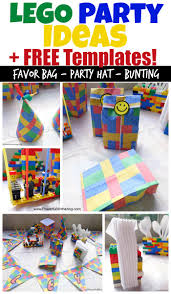 Party Templates Lego Birthday Party Ideas And Free Lego Templates