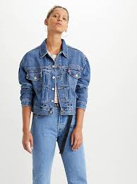 <b>New Heritage</b> Trucker Jacket - Medium Indigo | <b>Levi's</b>® GB